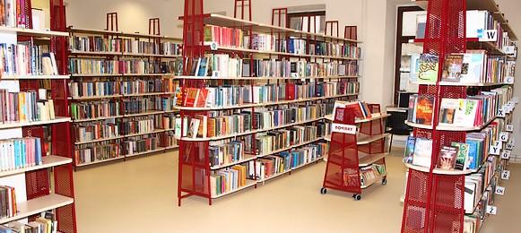 Oddělení pro dospělé čtenářeAbsenční výpůjčky dokumentů Meziknihovní výpůjční služba Rezervace dokumentů Pořádání besed a exkurzí