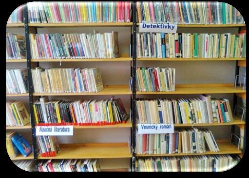Knihovna v DPS  U Lesíka