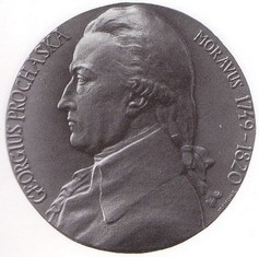Jiří Procháska, ražená medaile, bronz, 1949