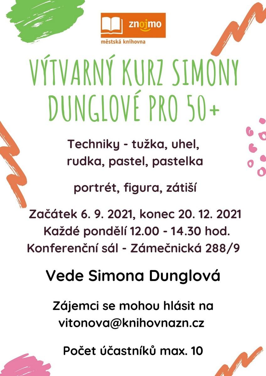 ýtvarný kurz Simony Dunglové pro 50+