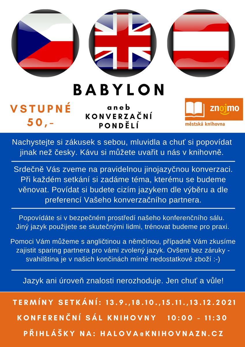 Babylon aneb Konverzační pondělí